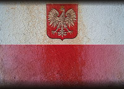 red, white, gold, eagles, flags, golden, Polish, Poland, Coat of arms, emblems, White Eagle - random desktop wallpaper