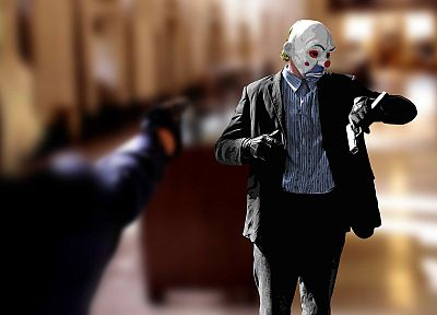 masks, glock, The Dark Knight - related desktop wallpaper