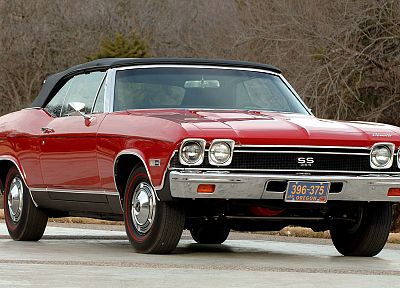 Chevrolet Chevelle SS, classic cars - random desktop wallpaper