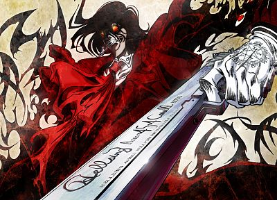 guns, Hellsing, Alucard, vampires - related desktop wallpaper