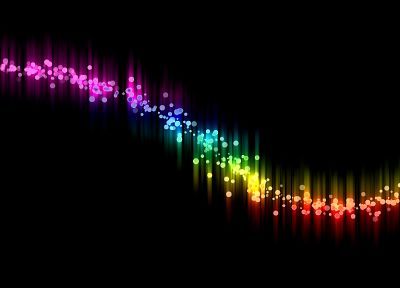 abstract, multicolor, black background - related desktop wallpaper