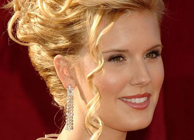 blondes, women, Maggie Grace, faces - desktop wallpaper