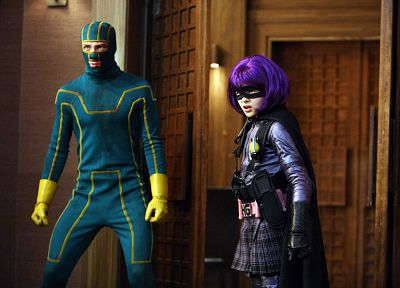 movies, Kick-Ass, Hit Girl - random desktop wallpaper