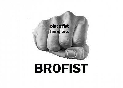 bro fist, white background - desktop wallpaper