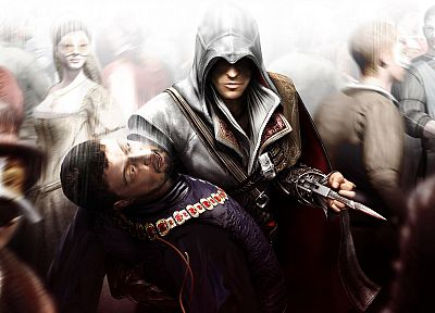 video games, Assassins Creed, Ezio Auditore da Firenze - desktop wallpaper