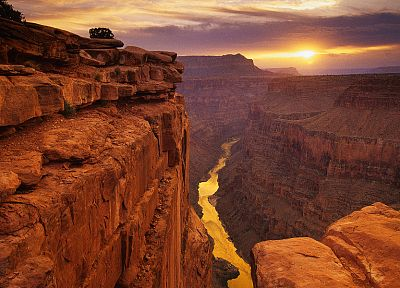 sunset, mountains, landscapes, canyon - related desktop wallpaper