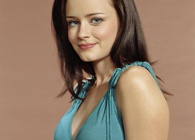 women, Alexis Bledel - desktop wallpaper