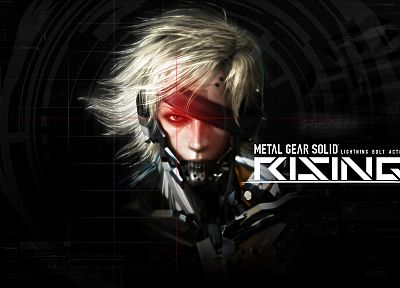 Metal Gear Solid, Raiden - random desktop wallpaper