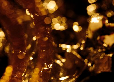 crystals, bokeh - random desktop wallpaper