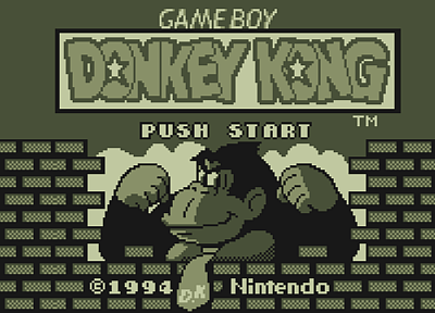Nintendo, video games, Gameboy, Donkey Kong, retro games - related desktop wallpaper