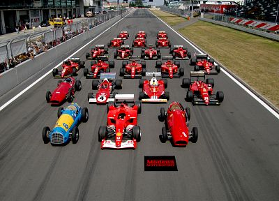 cars, Ferrari, Formula One, vehicles, race tracks - related desktop wallpaper