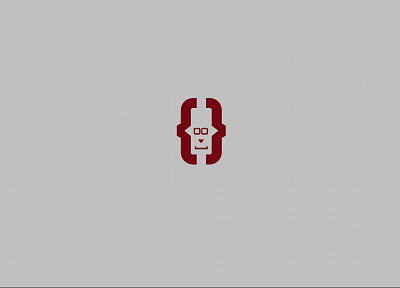 minimalistic, emoticons - desktop wallpaper