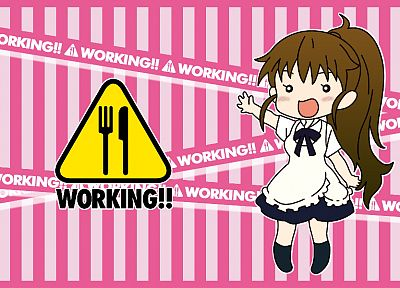 Working!! (Anime), Taneshima Popura - desktop wallpaper