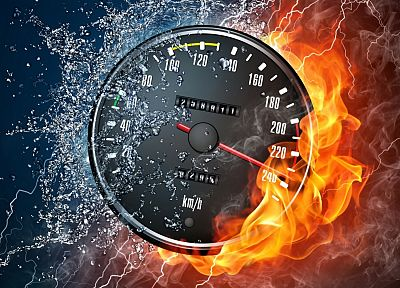 cars, speedometer - random desktop wallpaper