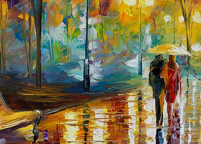 paintings, Leonid Afremov - random desktop wallpaper