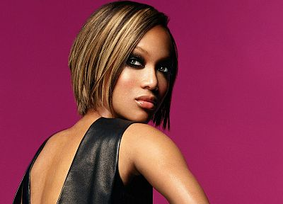 women, Tyra Banks - desktop wallpaper