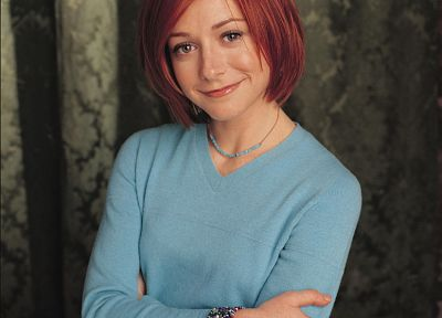 Alyson Hannigan, Buffy the Vampire Slayer, Willow Rosenberg - related desktop wallpaper