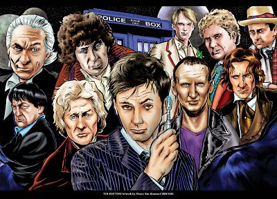 Doctor Who - desktop wallpaper