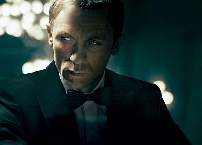 movies, James Bond, actors, Daniel Craig - desktop wallpaper
