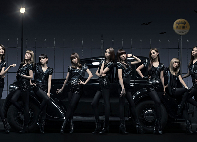 women, Girls Generation SNSD, Asians, taxi - desktop wallpaper