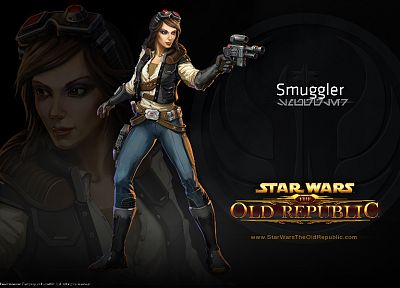 Star Wars, video games, concept art, MMORPG, Star Wars: The Old Republic, LucasArts, Smuggler - random desktop wallpaper