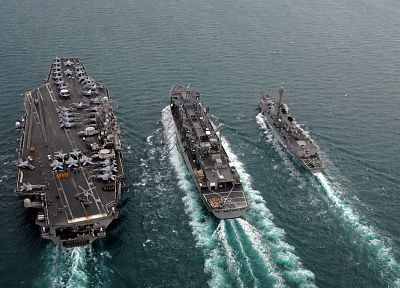 navy, vehicles, aircraft carriers - desktop wallpaper