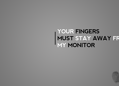 fingers, phrase - random desktop wallpaper