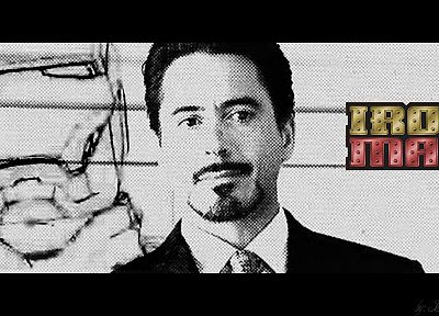 Iron Man, superheroes, Tony Stark, Robert Downey Jr, Marvel Comics - random desktop wallpaper