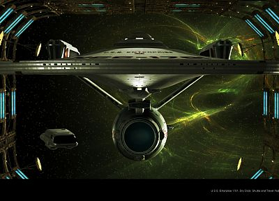 movies, Star Trek, USS Enterprise - related desktop wallpaper