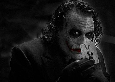 movies, The Joker, Heath Ledger, The Dark Knight - related desktop wallpaper