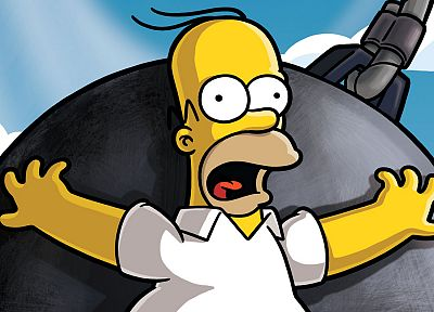 TV, cartoons, Homer Simpson, The Simpsons, TV series - related desktop wallpaper