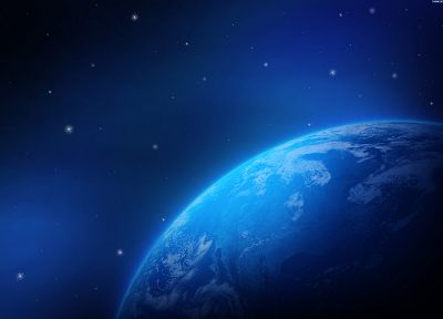 blue, planets, Earth - related desktop wallpaper