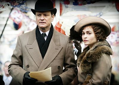 movies, Helena Bonham Carter, The Kings Speech, Colin Firth - duplicate desktop wallpaper