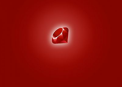 programming, logos, ruby - desktop wallpaper