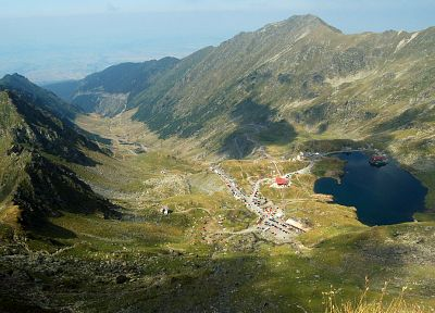 Romania, Transfagarasan road - random desktop wallpaper