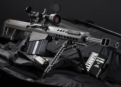 guns, weapons, sniper rifles, M82A1, .50 cal - related desktop wallpaper