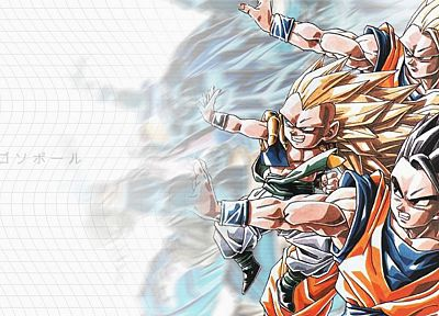 Dragon Ball Z - random desktop wallpaper
