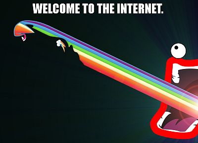 Internet, rainbows, My Little Pony, Shoop Da Whoop, Rainbow Dash - random desktop wallpaper