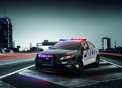 cars, Ford Taurus, Police Interceptor - random desktop wallpaper