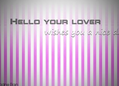 love, white, pink, baby, lovers, morning - desktop wallpaper