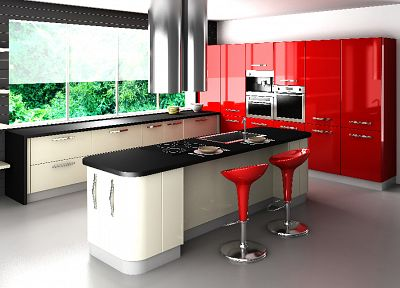 architecture, kitchen, interior - related desktop wallpaper