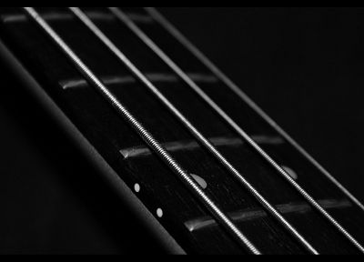 music, bass guitars, bass, grayscale, instruments, guitars, monochrome - related desktop wallpaper