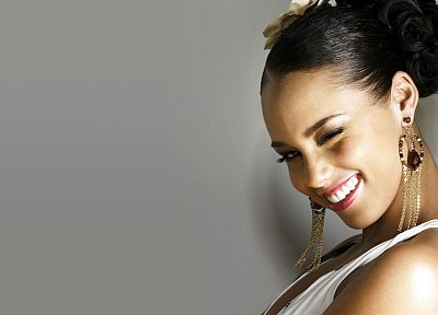 women, black people, celebrity, Alicia Keys, TagNotAllowedTooSubjective - desktop wallpaper
