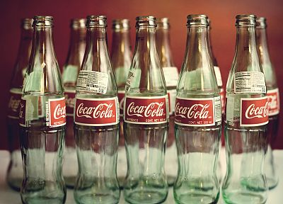 bottles, Coca-Cola, soda - desktop wallpaper