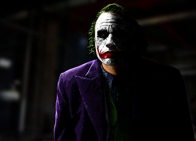 The Joker, Heath Ledger, The Dark Knight - random desktop wallpaper