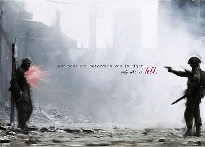 war, quotes - desktop wallpaper