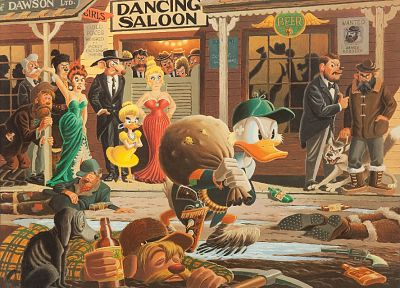 cartoons, Disney Company, ducks, Donald Duck, Scrooge McDuck, carl banks, carl barks - related desktop wallpaper