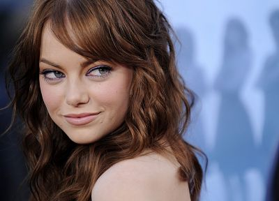 women, actress, Emma Stone - desktop wallpaper