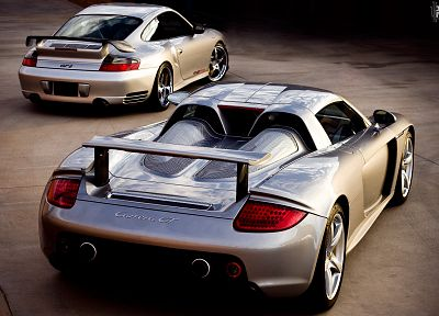 cars, sports, vehicles, Porsche Carrera GT, Porsche 911 GT2, Porsche 911 (996) GT2 - related desktop wallpaper