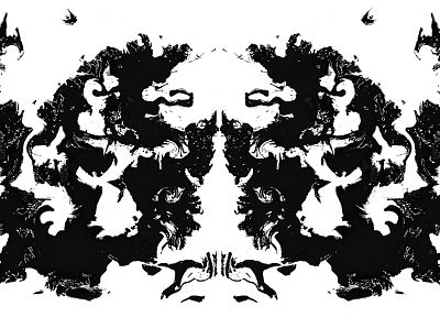 Rorschach - random desktop wallpaper